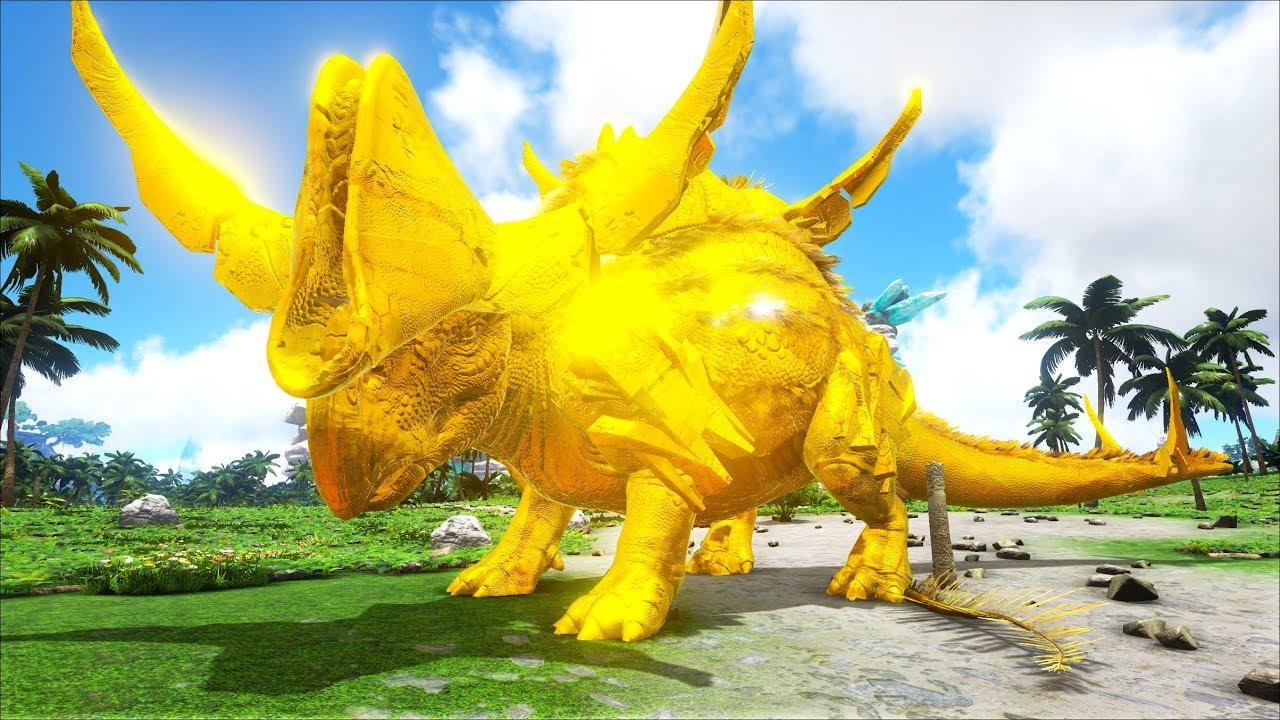 ARK: Survival Evolved #23 – Bắt Được Khủng Long Dát Vàng (Tek Camelsaurus)
