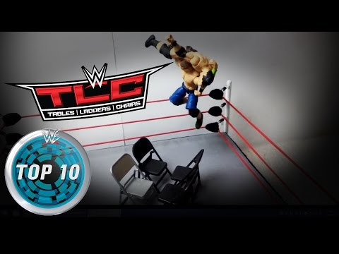 TLC, Tables, Ladders and Chairs: WWE Top 10