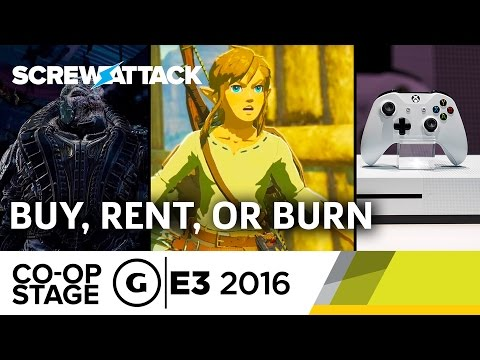 ScrewAttack's Buy, Rent, or Burn - E3 2016 GS Co-op Stage