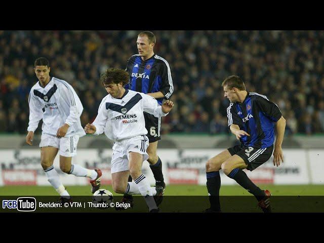 2003-2004 - UEFA-Cup - 04. 8ste Finale - Club Brugge - Girondins de Bordeaux 0-1