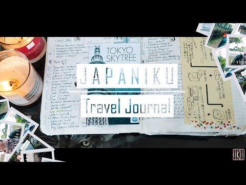 Japan Trip Travel Journal (Japaniku) | IkuTree