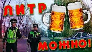 """""""Литр можно!"""" (с) ДПС одобряет пиво перед поездкой (Самара)"""