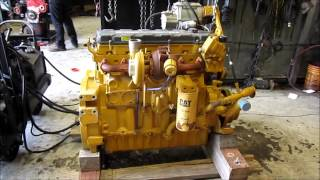 2006 Caterpillar C9 Acert Engine Running