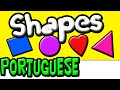 Learn Shapes in Portuguese | Brazilian Portuguese | Portuguese Kids | Speak Portuguese