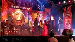 Live show human sagar at chatrapur stadium