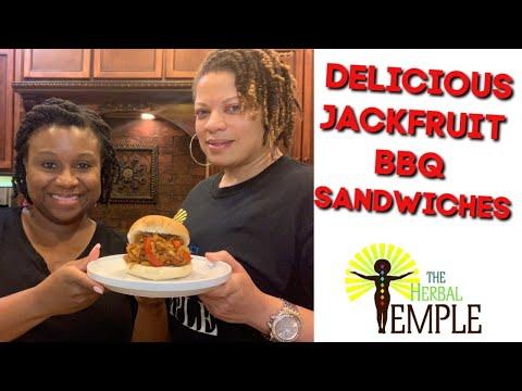 """jackfruit-pulled-""""pork""""-bbq-sandwiches"""