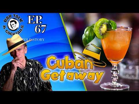 Cuban Rum Cocktail - The Cuban Getaway