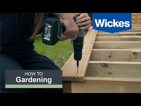 How to Lay Decking with Wickes