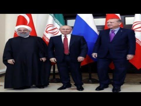 RUSSIAN Iranian Turkish Presidents take Control  Syria future in Sochi Breaking News November 2017