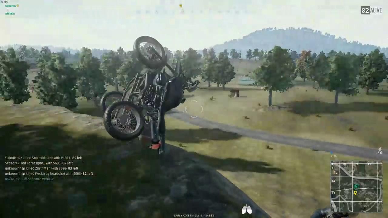 PUBG Bike Ram