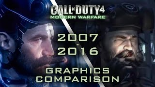 [4K 60fps] Call of Duty 4 MW vs Remastered (FRAME 2 FRAME GRAPHIC COMPARISON)