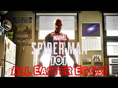 Spider-Man PS4: 101 - All PGW Easter Eggs! Dr. Strange, Release Date & More! Fan Collab!