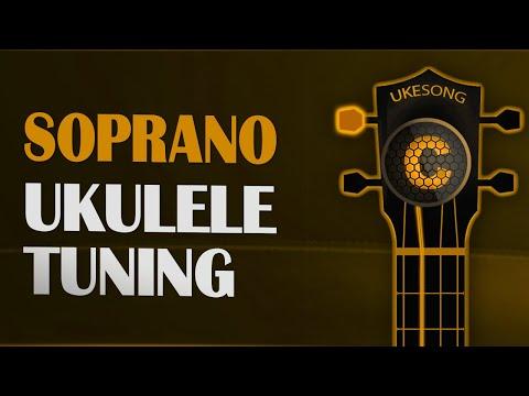 Soprano ukulele tuning - Online Ukulele Tuner