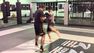 STRIKE Training: Alternating Kicks (Alex & Q6)