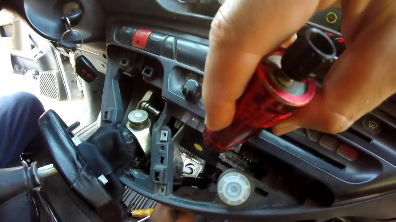 Fiat Scudo 1.9D Замена троса КПП. Промывка системы охлаждения сыровоткой.