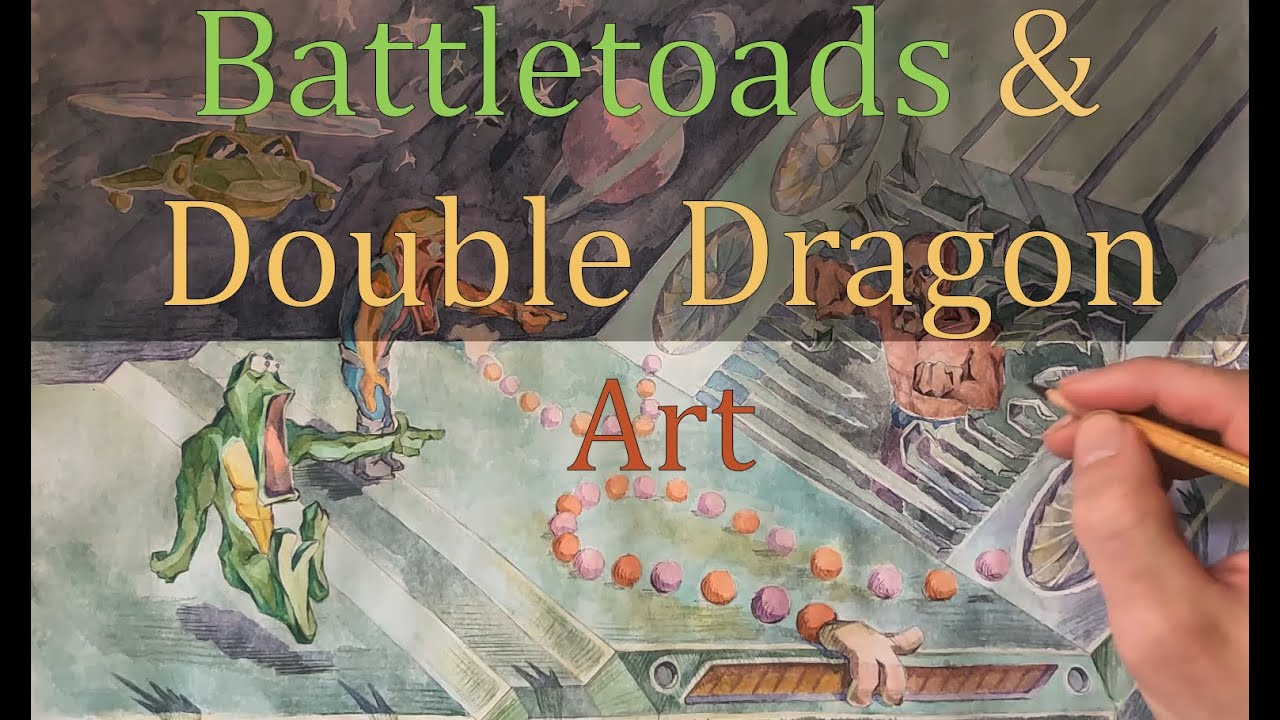 Battletoads Double Dragon Art Youtube