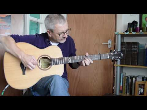 Be Thou My Vision played by David Morrow on Baritone Guitar