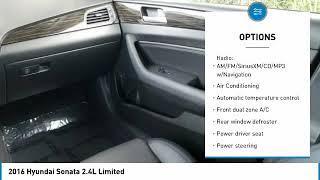2016 Hyundai Sonata 2016 Hyundai Sonata 2.4L Limited FOR SALE in Sanford, FL KH732876A