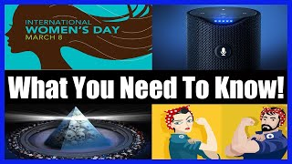 """Feminism Is Cancer, """"Globalist"""" Really Means """"Jew""""?! & Amazon's Alexa Is Laughing At You!"""