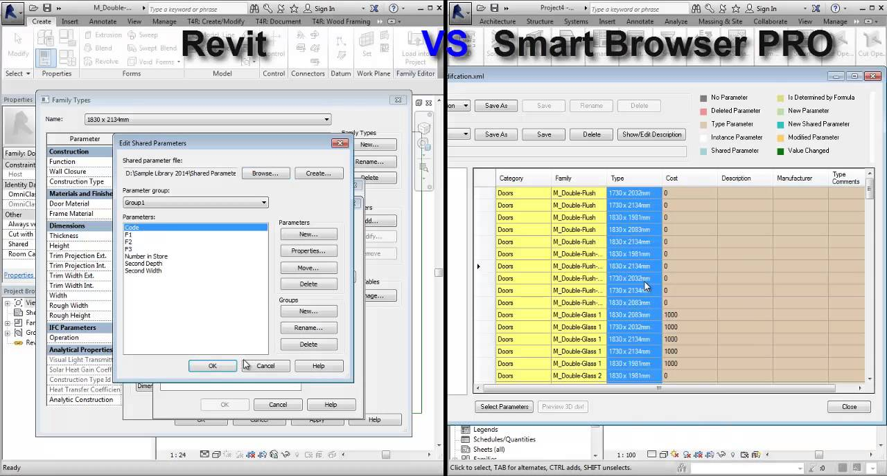 Revit® Family Search & Management | Smart Browser Manage | AGACAD