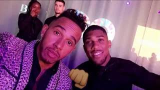 At The GQ Awards! | Lewis Hamilton Snapchat Vlog