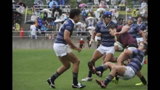 東西大学対抗ラグビー 同志社対早稲田