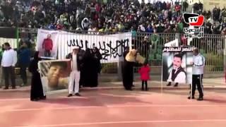 «ألتراس المصري» يتظاهرون بـ«ستاد بورسعيد» ضد «تجاهل وظلم المدينة»
