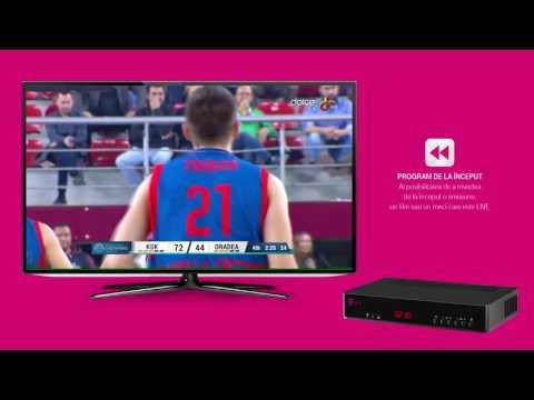 Pauza si continuare & Program de la inceput - Telekom TV Interactiv