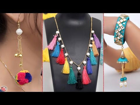 10 Jewelry Ideas For Ladies !!! DIY Handmade Jewelry Making