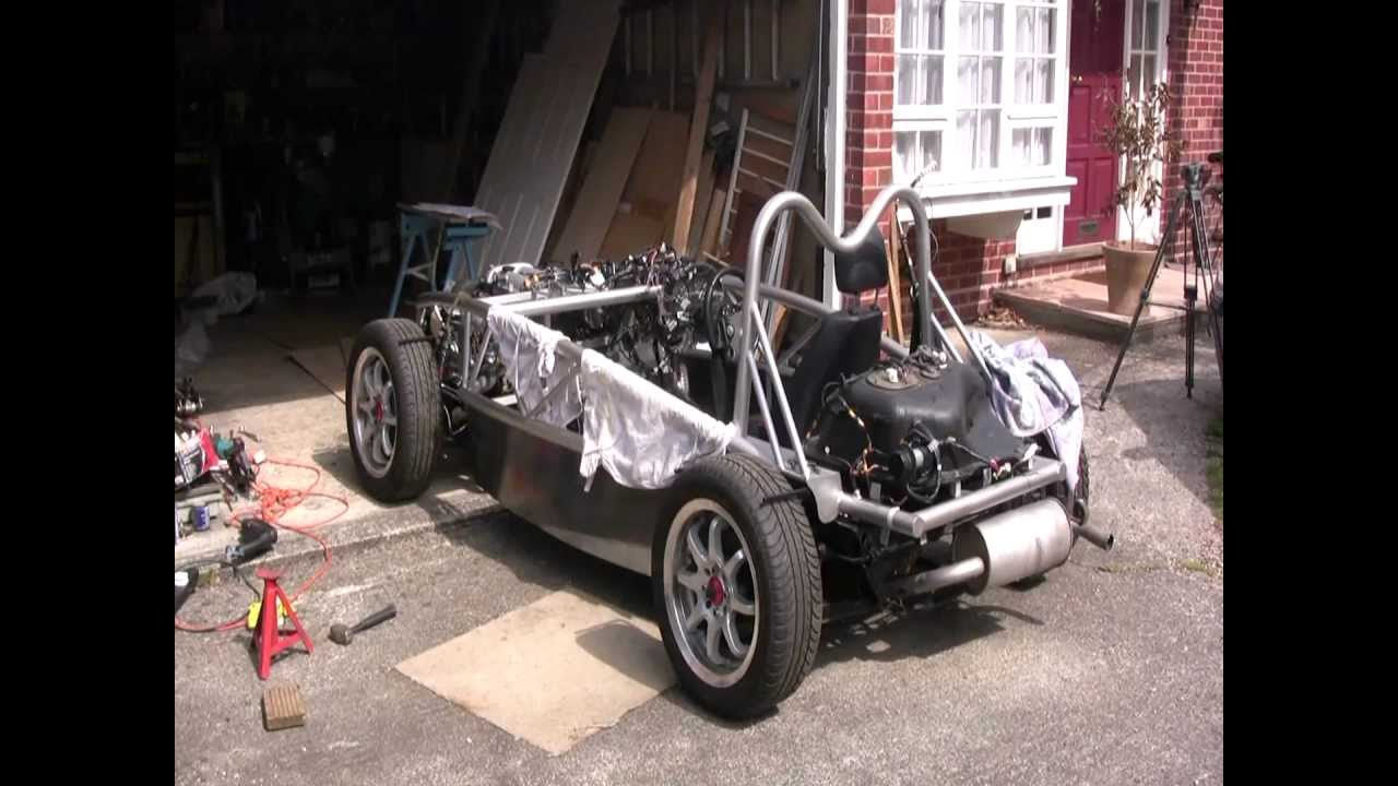 Mev Exocet Kit Car Build The Dreaded Wiring Loom Youtube