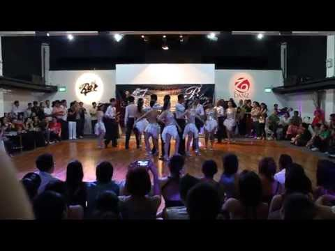 JJSalsarengue Dance Bash 2014 - Student Performance Team Power7