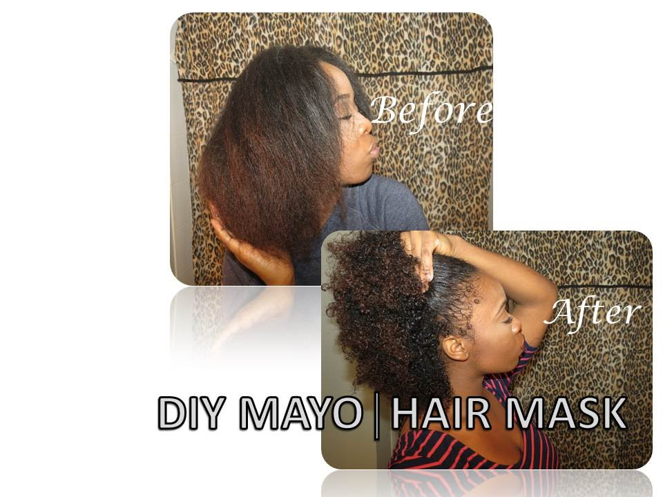 Diy│mayo Mask Treatment Routine For Hair Growth│natural