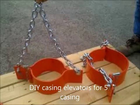 "DYI water well belled pvc elevators for 5"" casing"