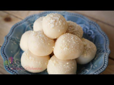 বাংলাদেশি সাদা মিষ্টি || Bangladeshi Sweets Recipe || Mishty Recipe || R#187