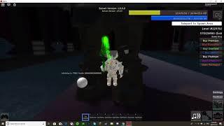 Final Boss Battle (Infinity, God of Chaos) |  Roblox Infinity RPG