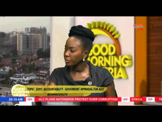 Good Morning Nigeria Show GOVERNMENT - Accountability And Appraisal For July (Pt.1) | Cool TV