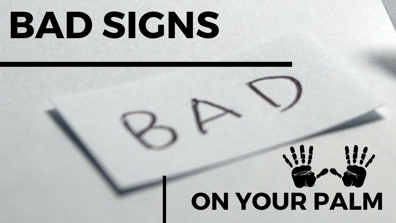 Do you have these bad signs in your hand palmistry youtube do you have these bad signs in your hand palmistry buycottarizona Image collections