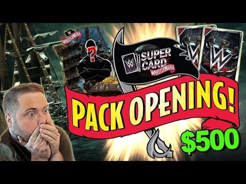 AMAZING WRESTLEMANIA 36 (WM36) TIER PACK OPENING!!   WWE SuperCard S6