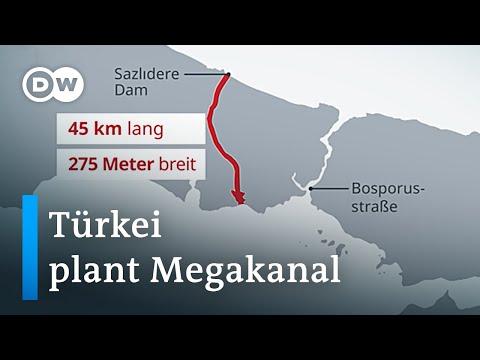 Istanbul-Kanal: Wird Erdogans Prestigeprojekt zum Albtraum für die Türkei? | DW Nachrichten
