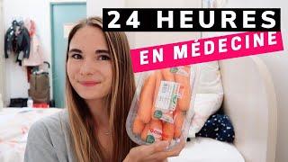 24 HEURES EN MÉDECINE : trouver la motivation + haul courses S4E4