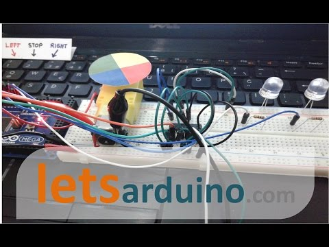 Project 19 - Serial Communication with Computer Keyboard  + DC Motor Direction Control