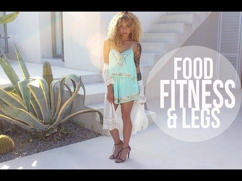 My Food, Fitness & Legs