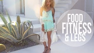 My Food, Fitness & Legs