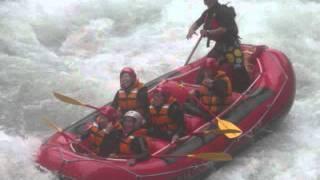 水上ラフティングツアー「紅葉峡」フォレスト&ウォーター