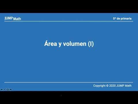 5. Undtat 6. Área y volumen I
