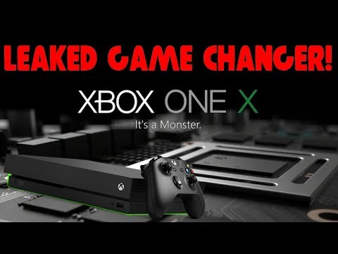 MAJOR LEAK! Xbox One X Gets Massive Game Changing News! WOW!