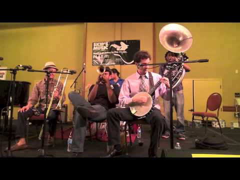 "New Orleans Swamp Donkeys Traditional Jazz Band  ""West End Blues"""