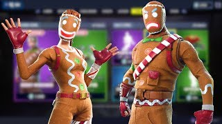 NEW Fortnite Item Shop GINGERBREAD SKINS ARE BACK! Ginger Gunner And Merry Marauder skins! 🍪🍪🍪