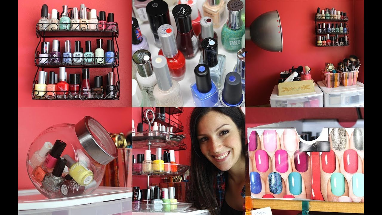 Idees De Rangement Vernis A Ongles Ma Collection Youtube
