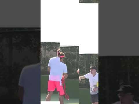 Roger Federer Warm Up Exercises🎾🏃🏃